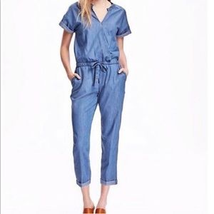 Old Navy Chambray jumpsuit!